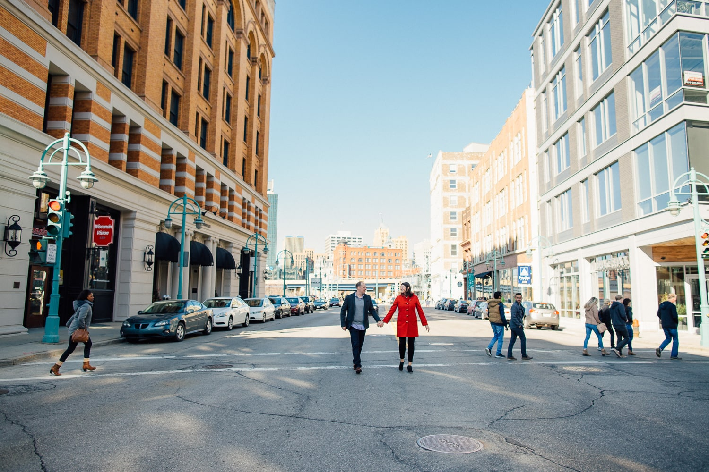 Engagement Session - Historic Third Ward - Milwaukee - Double You Photography - Kat Wegrzyniak