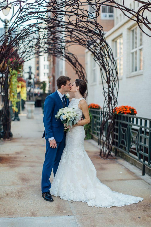 Milwaukee Wedding Bride and Groom - Double You Photography