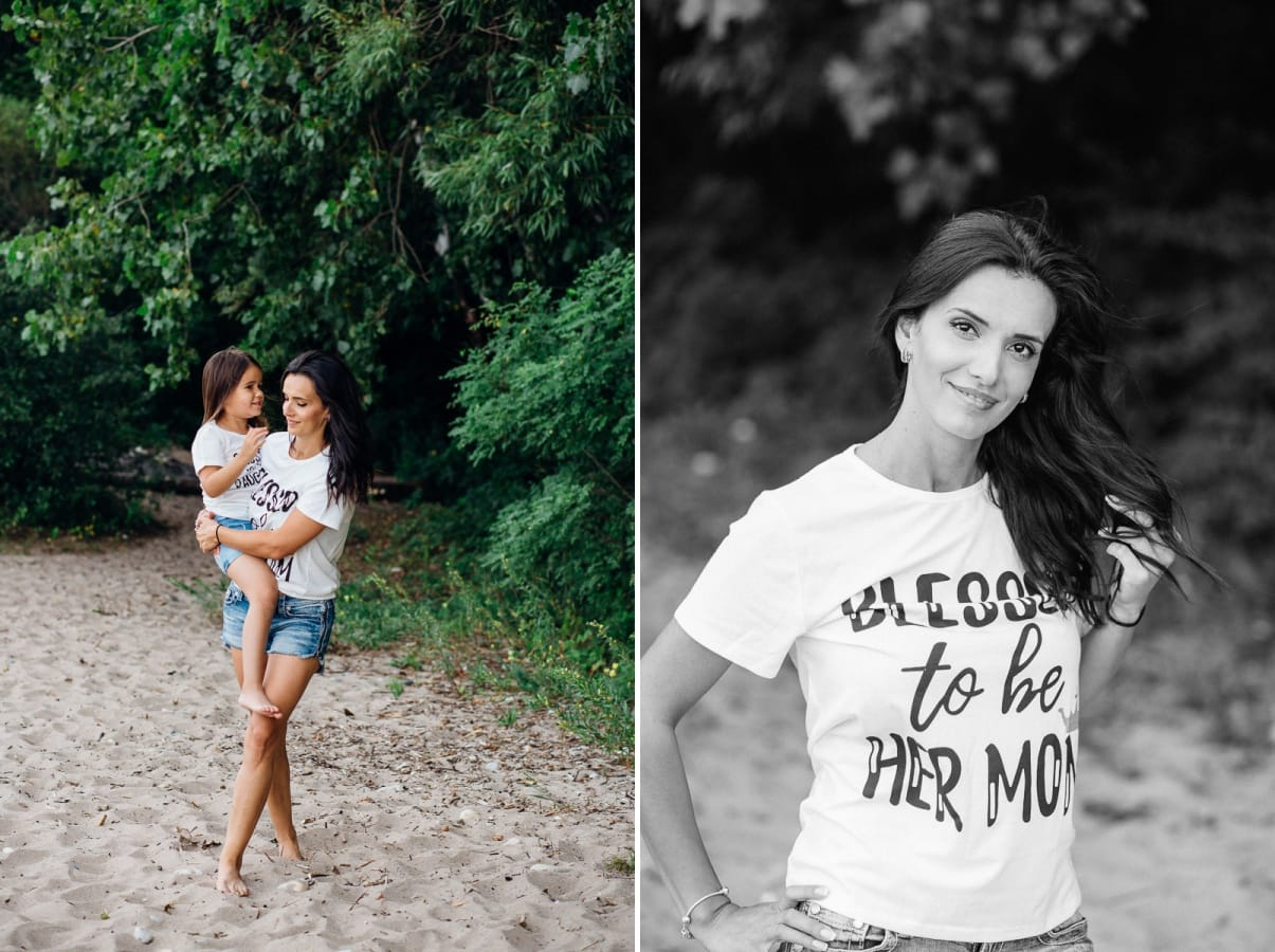 Mommy and me session / Milwaukee / Lake Michigan beach