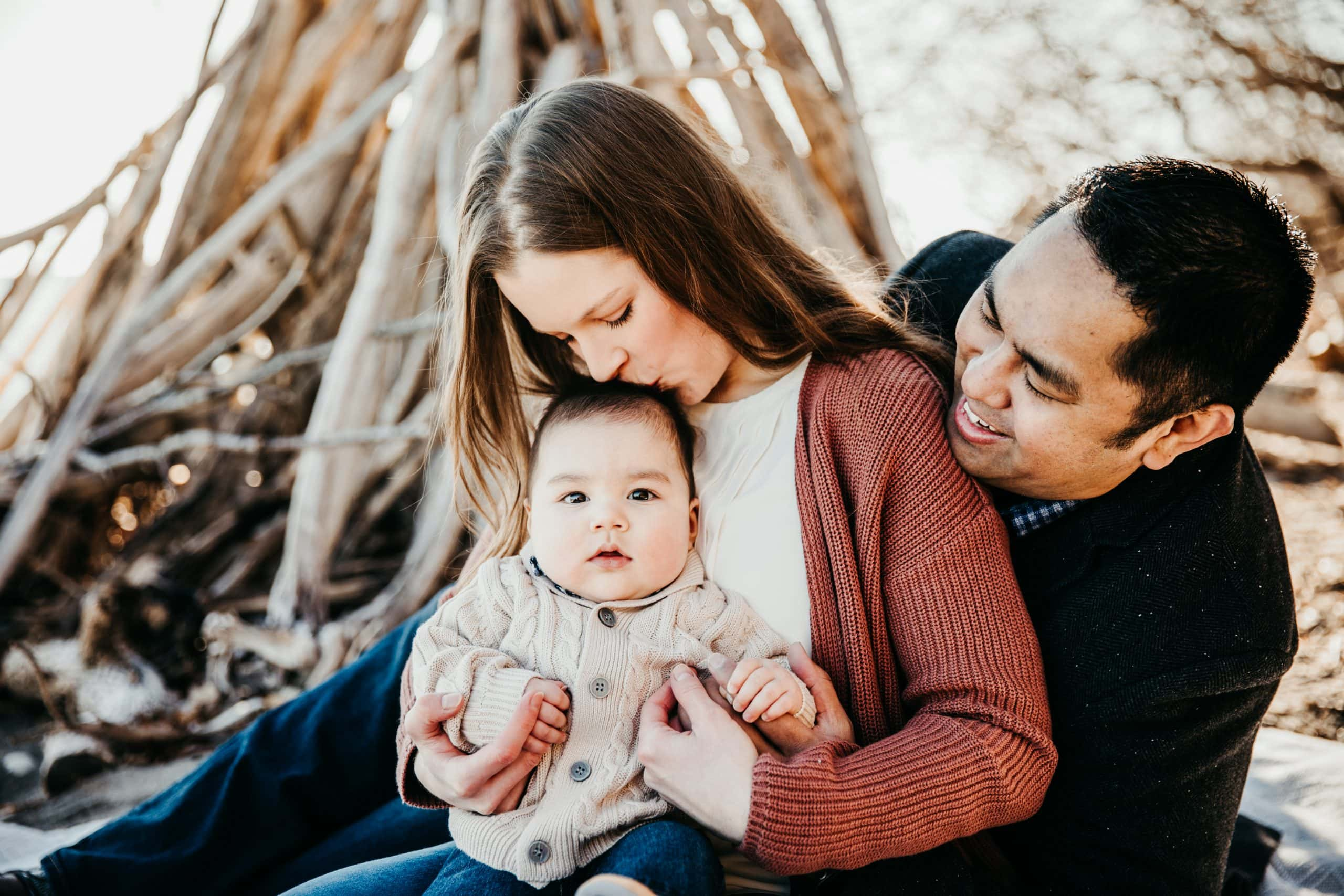 Milwaukee family photography- fall session- beach session- Kat Wegrzyniak-Double You Photography
